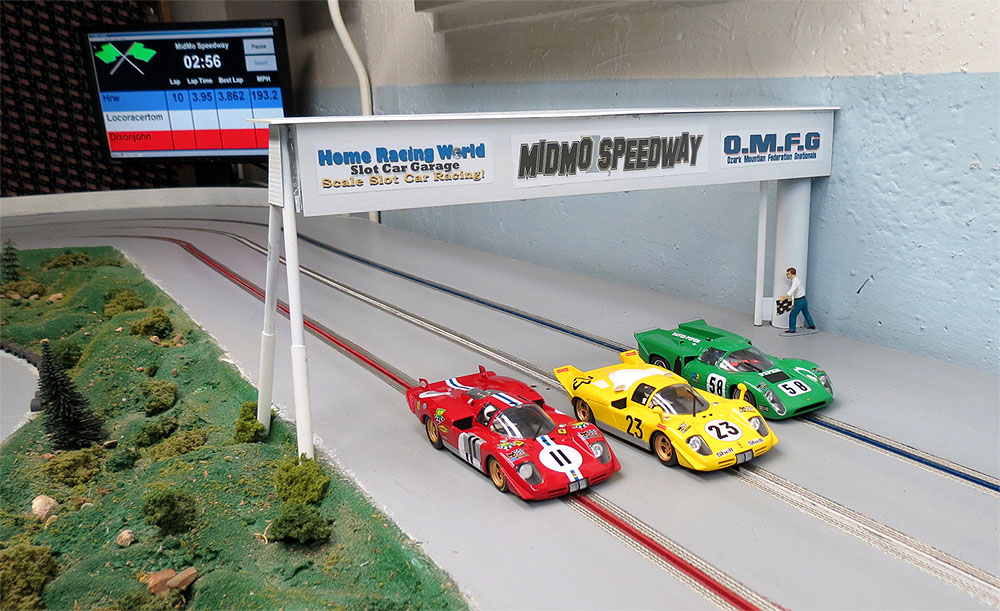 Trackmate Lap Timing Infrared Home Racing World The Slot Car Garage