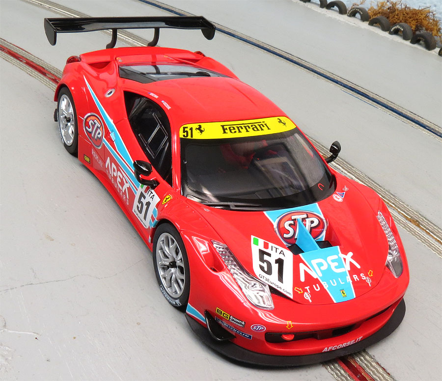 Carrera 1/24th Scale Ferrari 458