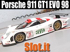 porsche 911 gt1 evo 98 home racing world the slot car garage. Black Bedroom Furniture Sets. Home Design Ideas